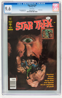 Star Trek #53 (Gold Key, 1978) CGC NM+ 9.6 White pages