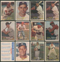 Baseball Cards:Lots, 1957 Topps Baseball Collection (28) With Many Stars, HoFers andHigh Numbers! ...