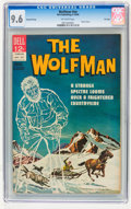 Silver Age (1956-1969):Horror, Movie Classics: Wolfman #nn Second Printing File Copy (Dell, 1964)CGC NM+ 9.6 Off-white pages....
