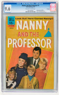 Bronze Age (1970-1979):Humor, Nanny and the Professor #1 File Copy (Dell, 1970) CGC NM+ 9.6Off-white to white pages....