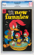 Golden Age (1938-1955):Cartoon Character, New Funnies #219 File Copy (Dell, 1955) CGC NM+ 9.6 Off-whitepages....