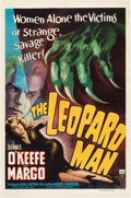 "Movie Posters:Horror, The Leopard Man (RKO, 1943). One Sheet (27"" X 41"").. ..."