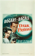 "Movie Posters:Film Noir, Dark Passage (Warner Brothers, 1947). Window Card (14"" X 22"").. ..."