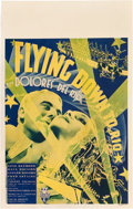 "Movie Posters:Musical, Flying Down to Rio (RKO, 1933). Window Card (14"" X 22"").. ..."
