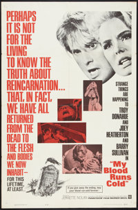 """My Blood Runs Cold (Warner Brothers, 1965). One Sheet (27"""" X 41""""). Thriller"""