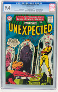 Silver Age (1956-1969):Science Fiction, Tales of the Unexpected #82 (DC, 1964) CGC NM 9.4 Off-white towhite pages....
