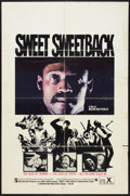 "Movie Posters:Blaxploitation, Sweet Sweetback's Baadasssss Song (Cinemation Industries, 1971).One Sheet (27"" X 41""). Blaxploitation.. ..."