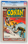 Bronze Age (1970-1979):Superhero, Conan the Barbarian #16 (Marvel, 1972) CGC NM+ 9.6 White pages....