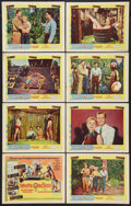 """Movie Posters:Adventure, The White Orchid (United Artists, 1954). Lobby Card Set of 8 (11"""" X14""""). Adventure.. ... (Total: 8 Items)"""