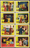 """Movie Posters:Film Noir, Witness to Murder (United Artists, 1954). Lobby Card Set of 8 (11"""" X 14""""). Film Noir.. ... (Total: 8 Items)"""