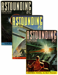 Astounding Stories Group (Street & Smith, 1940-41) Condition: Average VF.... (Total: 24 Items)