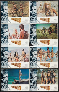 """When Dinosaurs Ruled the Earth (Warner Brothers, 1970). Lobby Card Set of 8 (11"""" X 14""""). Fantasy. ... (Total:..."""