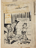 Original Comic Art:Covers, Jack Kirby and Joe Simon Headline Comics #25 Cover OriginalArt (Prize, 1947).... (Total: 2 Items)