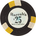 Miscellaneous:Gaming Chips, Harrah's $25 Reno and Lake Tahoe Casino Chip, Third Issue, R-10,Undrilled, Circa 1950s....