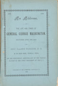 Books:Pamphlets & Tracts, Henry Purdon. An Address, on the Life and Times of GeneralGeorge Washington....