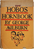 Books:Signed Editions, George Milburn. The Hobo's Hornbook, A Repertory for a GutterJongleur [with:] An Archive of Seven Milburn Typ... (Total: 2Items)