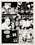 "Original Comic Art:Panel Pages, Jaime Hernandez Love and Rockets #35 ""Wigwam Bam"" page 15Original Art (Fantagraphics, 1991)...."