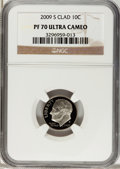 Proof Roosevelt Dimes, 2009-S 10C Clad PR70 Ultra Cameo NGC. NGC Census: (0). PCGSPopulation (273). (#407273)...
