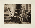 Autographs:Inventors, Henry Ford, Thomas Edison, and Harvey Firestone Photograph - Signedby Henry Ford, ca. 1924. This large b/w photogra...