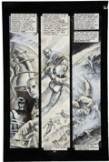 Original Comic Art:Panel Pages, John Totleben Miracleman #15 page 10 Original Art (Eclipse, 1988)....