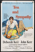 "Movie Posters:Drama, Tea and Sympathy (MGM, 1956). One Sheet (27"" X 41""). Drama.Starring Deoborah Kerr, John Kerr, Leif Erickson, Edward Andrews..."