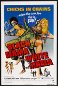 "Movie Posters:Blaxploitation, Black Mama, White Mama (MGM, 1972). One Sheet (27"" X 41""). Blaxploitation. ..."