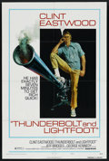 """Movie Posters:Crime, Thunderbolt and Lightfoot (United Artists, 1974). One Sheet (27"""" X41"""") Style C. ..."""
