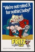 "Movie Posters:Animated, Fritz the Cat (American International, 1972). One Sheet (27"" X41""). Animated. Starring the voices of Skip Hinnant, Rosetta ..."