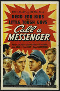 "Movie Posters:Crime, Call a Messenger (Universal, 1939). One Sheet (27"" X 41""). Crime...."