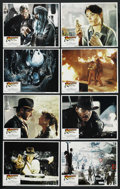 "Movie Posters:Adventure, Raiders of the Lost Ark (Paramount, 1981). Lobby Card Set of 8 (11""X 14""). Adventure. ... (Total: 8 Items)"