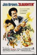 "Movie Posters:Blaxploitation, Slaughter (American International, 1972). One Sheet (27"" X 41"").Blaxploitation. ..."