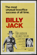 "Movie Posters:Action, Billy Jack (Warner Brothers, R-1973). One Sheet (27"" X 41"").Action. ..."