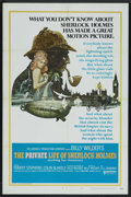"Movie Posters:Mystery, The Private Life of Sherlock Holmes (United Artists, 1970). OneSheet (27"" X 41"") Style A. Mystery. ..."