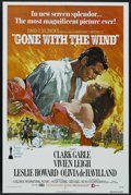 "Movie Posters:Academy Award Winner, Gone with the Wind (MGM, R-1974). One Sheet (27"" X 41""). AcademyAward Winner. ..."