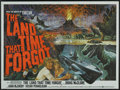 "Movie Posters:Science Fiction, The Land That Time Forgot (American International, 1975). BritishQuad (30"" X 40""). Science Fiction Adventure. ..."