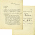Movie/TV Memorabilia:Autographs and Signed Items, Mary Pickford, Douglas Fairbanks, and Samuel Goldwyn Signed Letter. A two-page typed letter, dated March 23, 1938, signed on... (Total: 1 Item)