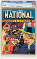 Golden Age (1938-1955):Superhero, National Comics #20 Mile High pedigree (Quality, 1942) CGC NM/MT9.8 White pages....