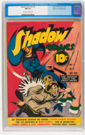 Golden Age (1938-1955):Crime, Shadow Comics V2#5 Mile High pedigree (Street & Smith, 1942) CGC NM 9.4 Off-white to white pages....