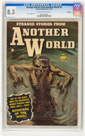 Golden Age (1938-1955):Horror, Strange Stories from Another World #4 Bethlehem pedigree (Fawcett,1952) CGC VF+ 8.5 Off-white to white pages....
