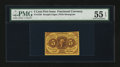 Fractional Currency:First Issue, Fr. 1230 5¢ First Issue PMG About Uncirculated 55 EPQ....