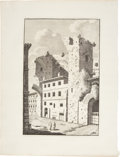 Antiques:Posters & Prints, Bonaventure D'Overbeke. Engraved Illustrations of Ancient Roman Baths. Plate mark 10.5 x 15.75 inches (five examples 15.75 x... (Total: 8 Items)