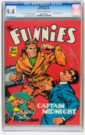 Golden Age (1938-1955):Adventure, The Funnies #59 (Dell, 1941) CGC NM 9.4 Cream to off-white pages....