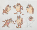 Animation Art:Production Drawing, Virgil Ross Tasmanian Devil Drawing Original Art (WarnerBros., undated)....