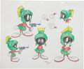 Animation Art:Production Drawing, Virgil Ross Marvin the Martian Drawing Original Art (WarnerBros., undated)....