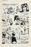 Original Comic Art:Panel Pages, John Totleben Miracleman #12 page 14 Original Art (Eclipse,1987)....