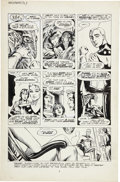Original Comic Art:Panel Pages, John Totleben Miracleman #12 page 5 Original Art (Eclipse,1987)....