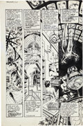 Original Comic Art:Panel Pages, John Totleben Miracleman #12 page 2 Original Art (Eclipse,1987)....