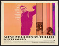 "Movie Posters:Action, Bullitt (Warner Brothers, 1968). Half Sheet (22"" X 28""). Action....."