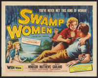 "Swamp Women (Woolner Brothers, 1956). Half Sheet (22"" X 28"") Style A. Bad Girl"