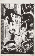 Original Comic Art:Covers, Marshall Rogers Daughters of the Dragon: Deadly HandsSpecial Cover Original Art (Marvel, 2006)....